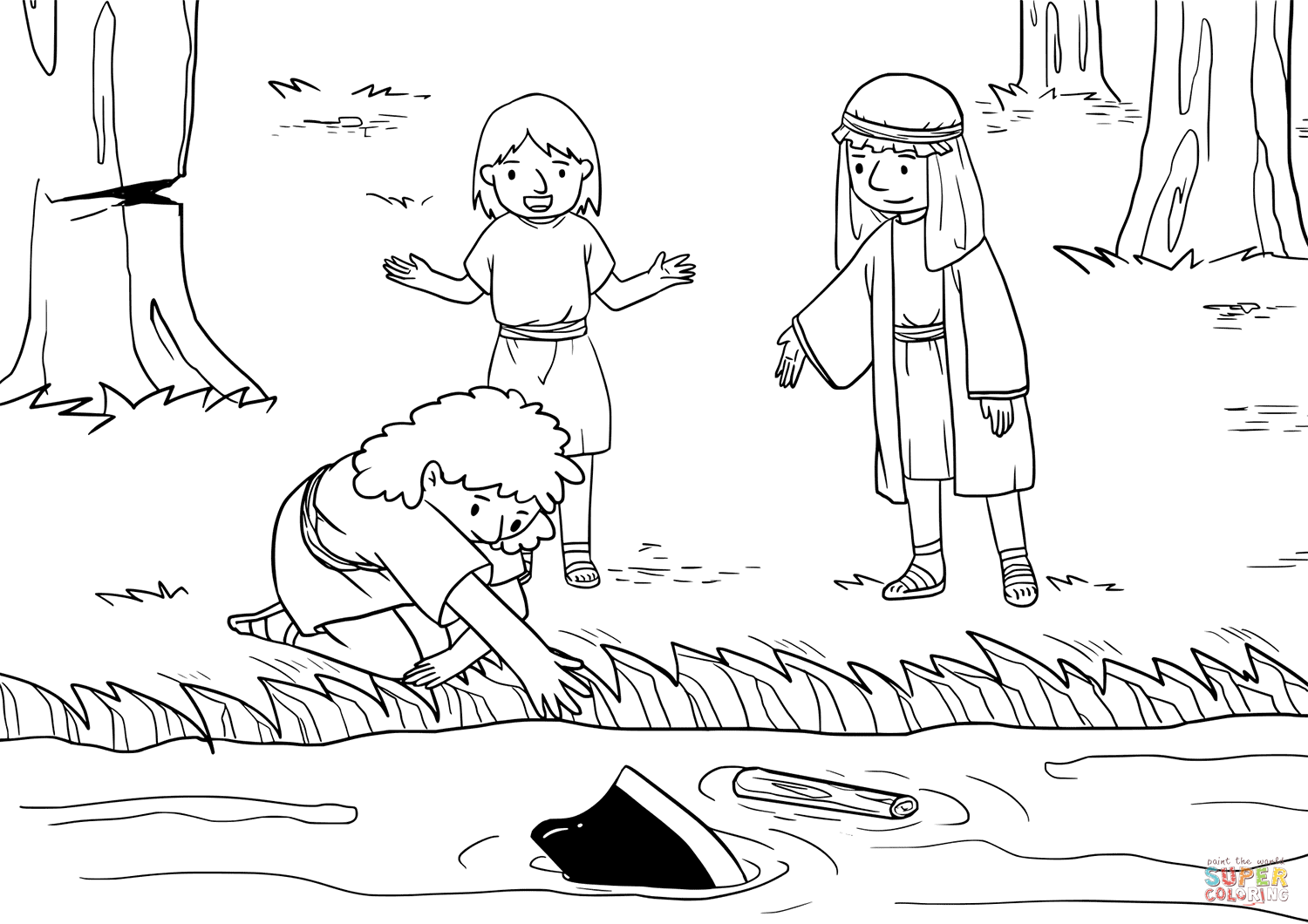 elisha coloring page the widow of the prophet asks elisha for help coloring page elisha coloring