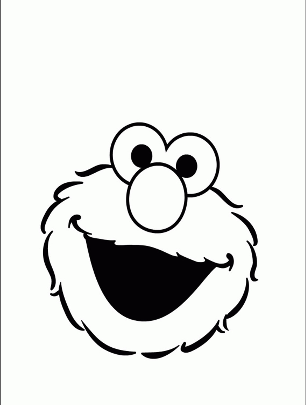 elmo coloring pages printable free printable elmo face template clipart best pages elmo coloring printable