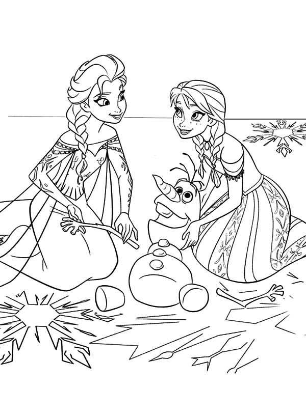 elsa and anna pictures to color elsa and anna coloring pages coloring home to pictures anna and color elsa