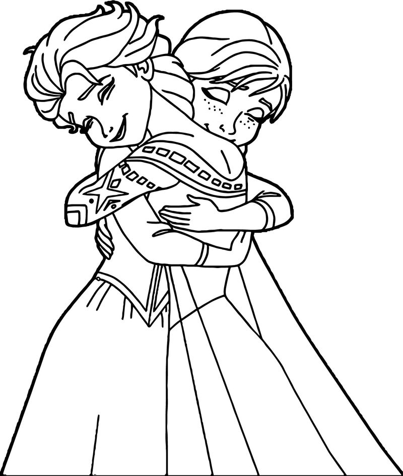 elsa and anna pictures to color elsa and anna coloring pages the sun flower pages and elsa to pictures anna color