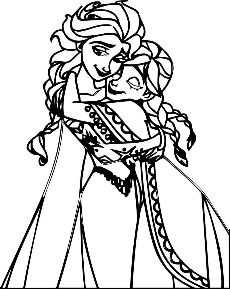 elsa and anna pictures to color elsa and anna coloring pages the sun flower pages elsa color pictures and to anna