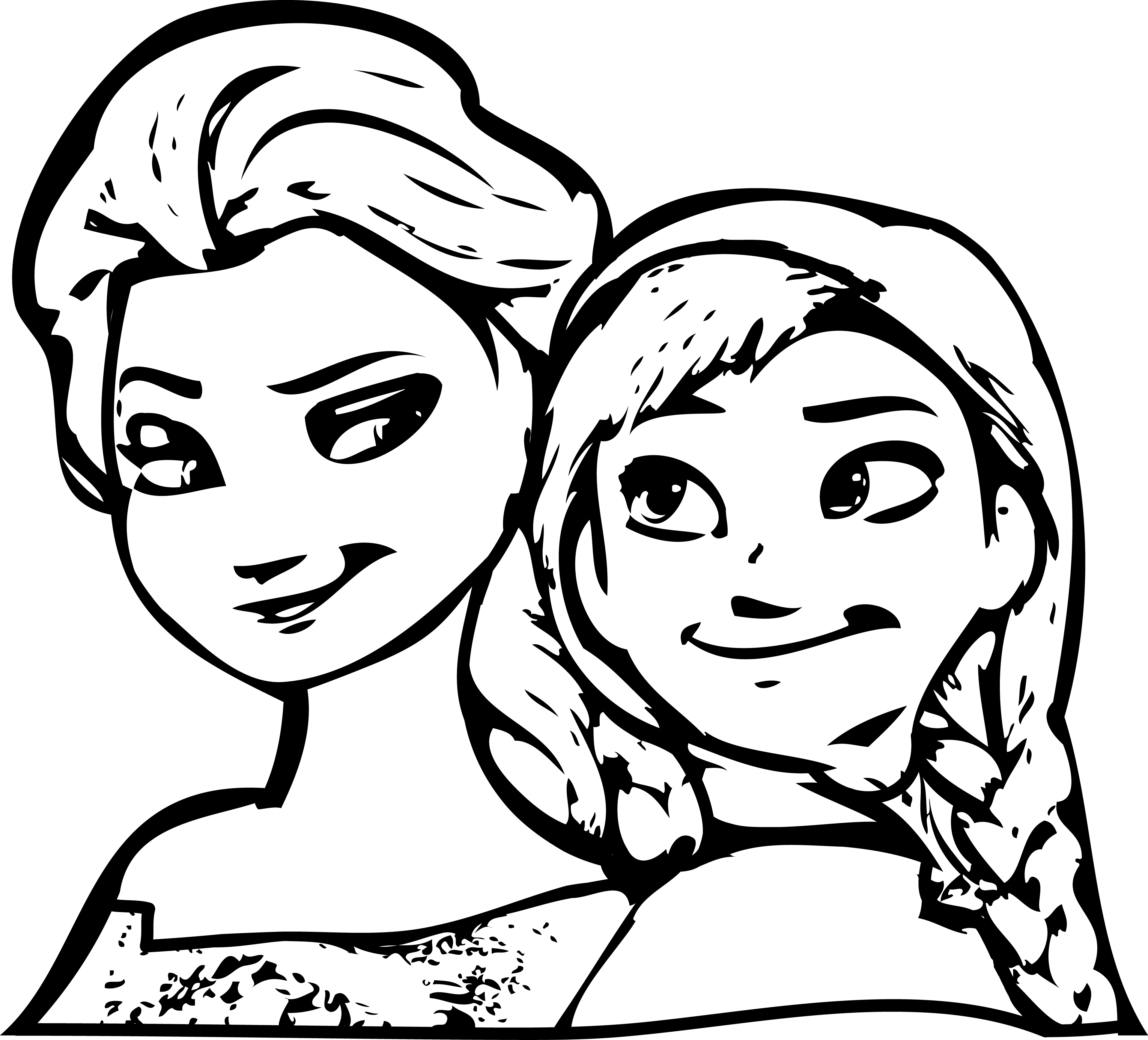 elsa and anna pictures to color elsa and anna coloring pages the sun flower pages elsa pictures color anna and to