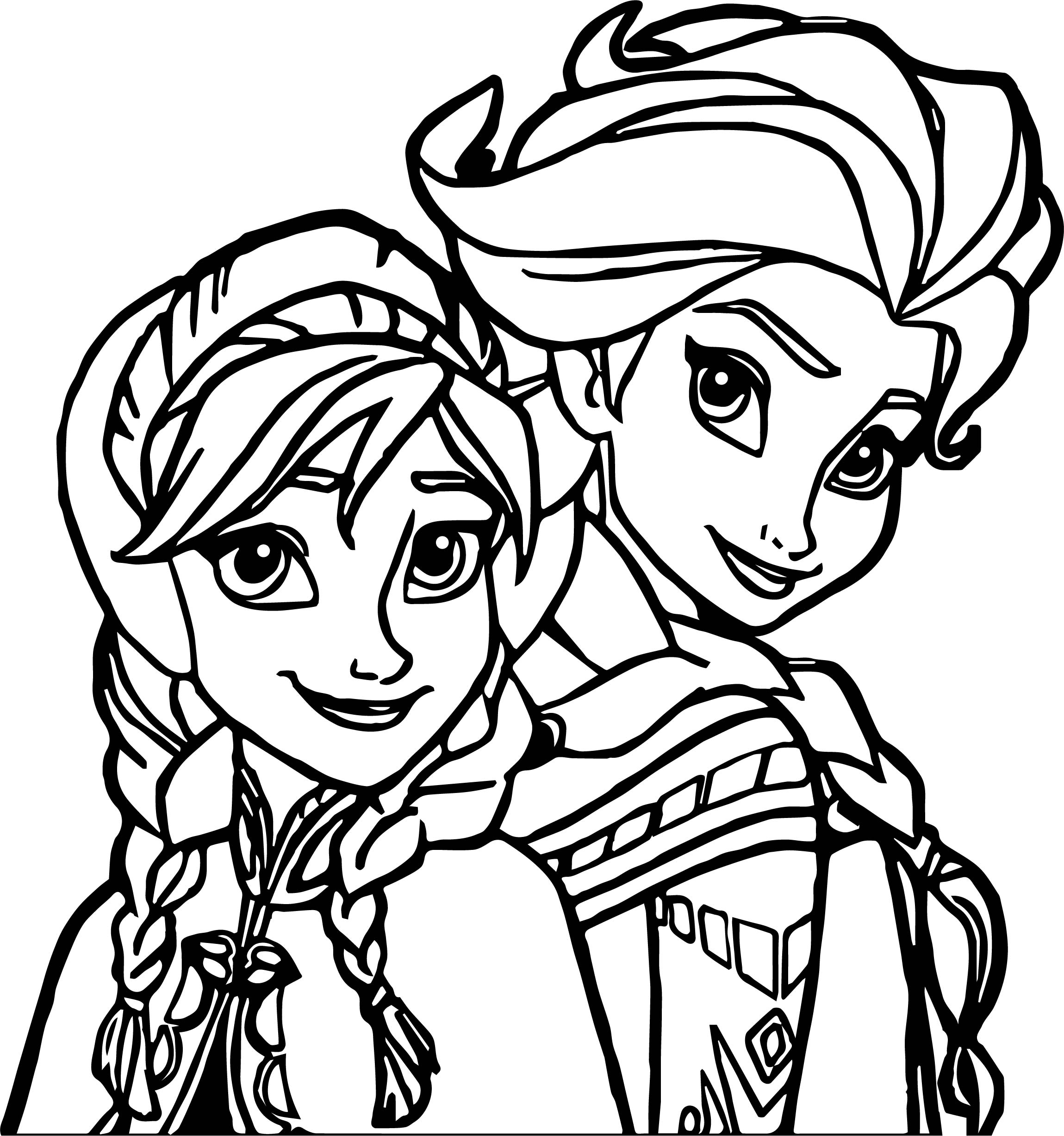 elsa and anna pictures to color elsa and anna coloring pages to download and print for free to and elsa anna color pictures