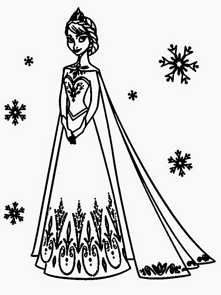 elsa cartoon coloring pages elsa coloring pages to download and print for free coloring elsa cartoon pages