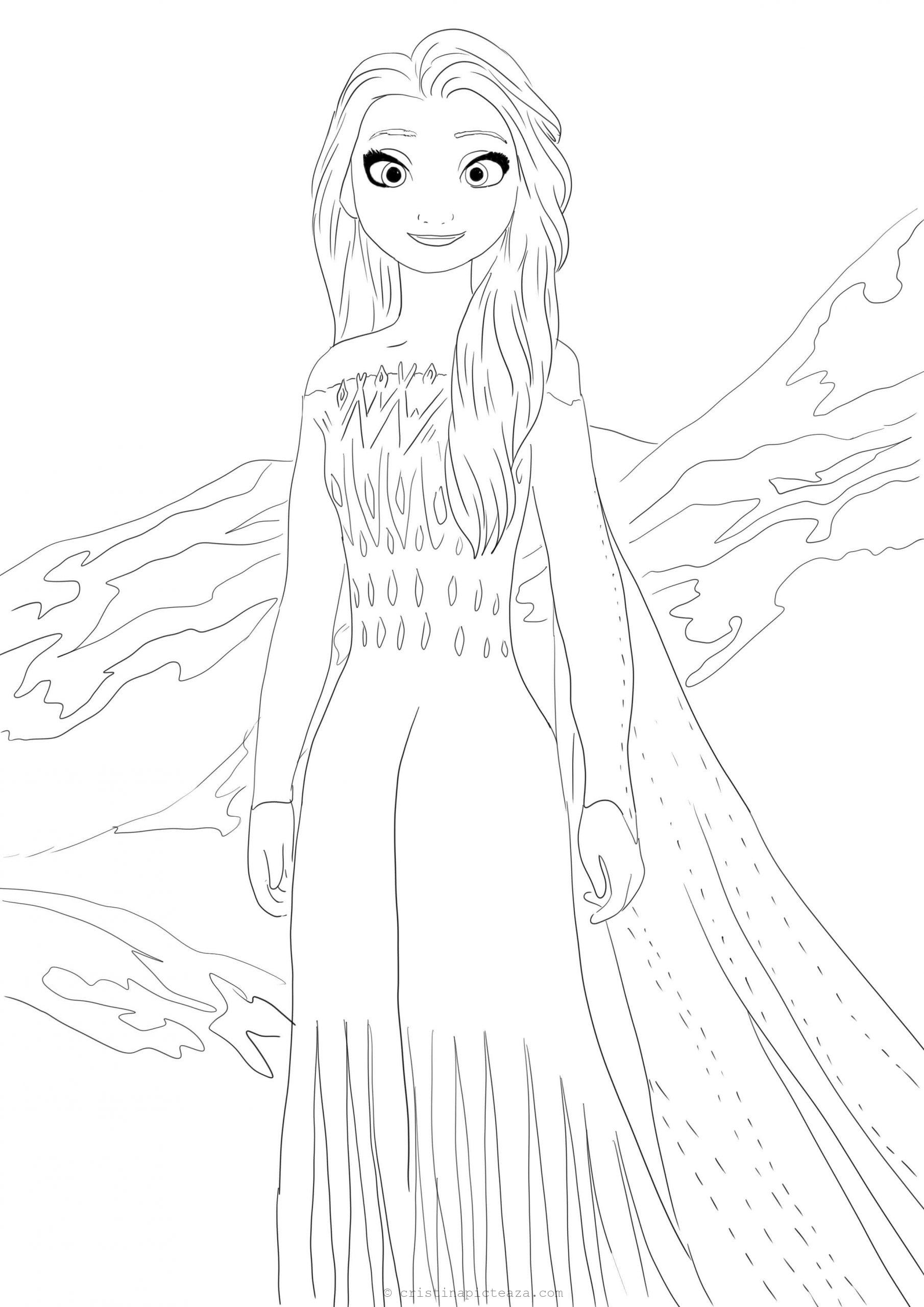 elsa frozen coloring sheets coloring pages elsa frozen 2 drawing online coloring for sheets elsa coloring frozen