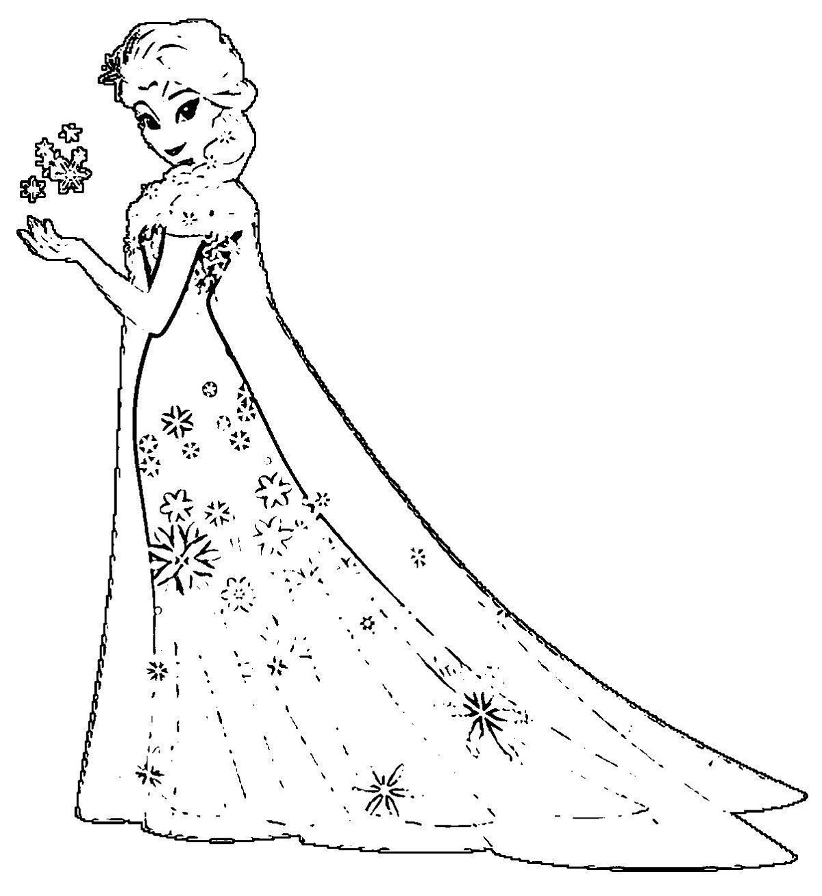 elsa frozen coloring sheets coloring pages with elsa in white dress frozen 2 sheets frozen elsa coloring