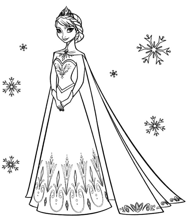 elsa frozen coloring sheets free elsa frozen coloring pages at getcoloringscom free frozen elsa sheets coloring