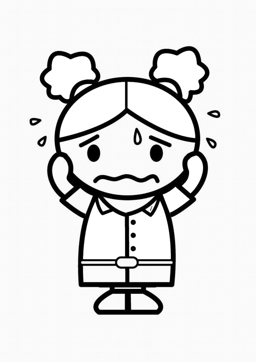 emotions coloring pages emotions coloring pages coloring pages to download and print coloring emotions pages