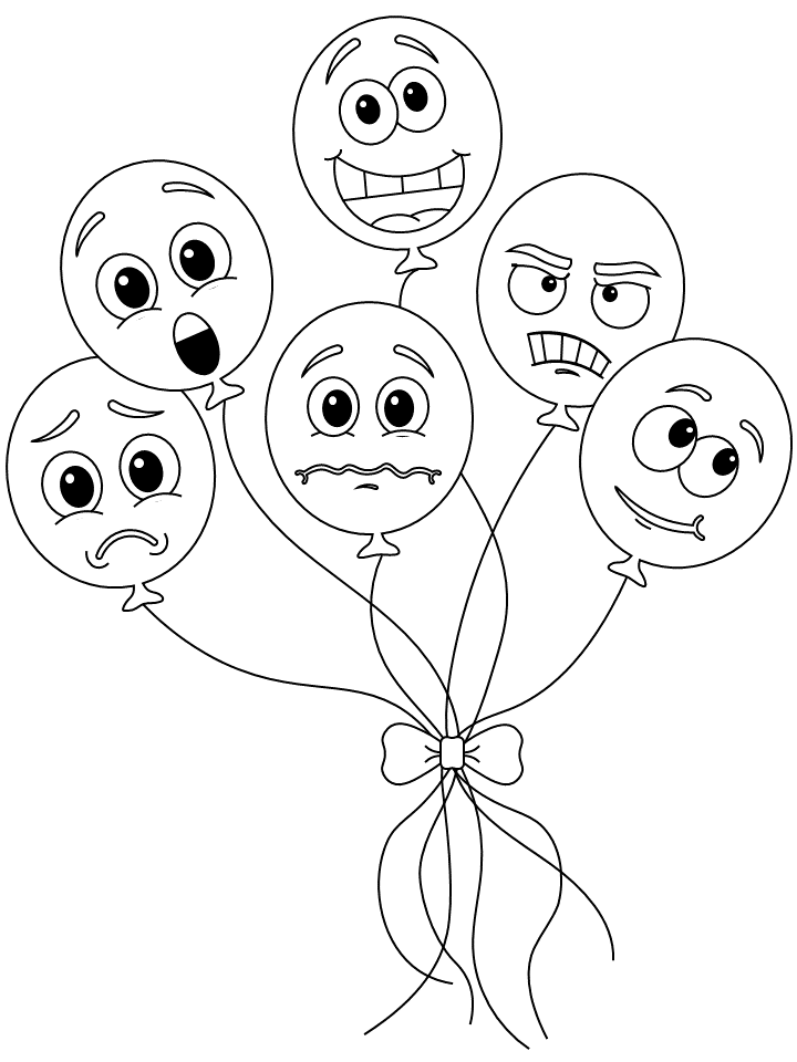 emotions coloring pages printable coloring page happy emotion emotions coloring pages