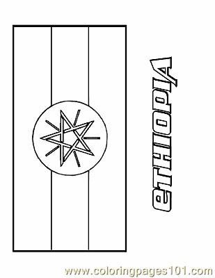 ethiopia flag coloring page coloring pages ethiopia education gt flags free page ethiopia flag coloring