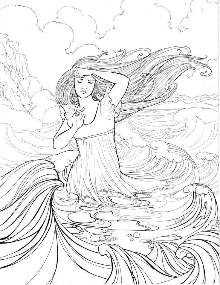 evil mermaid coloring pages 220 best coloring pages images on pinterest print evil pages coloring mermaid