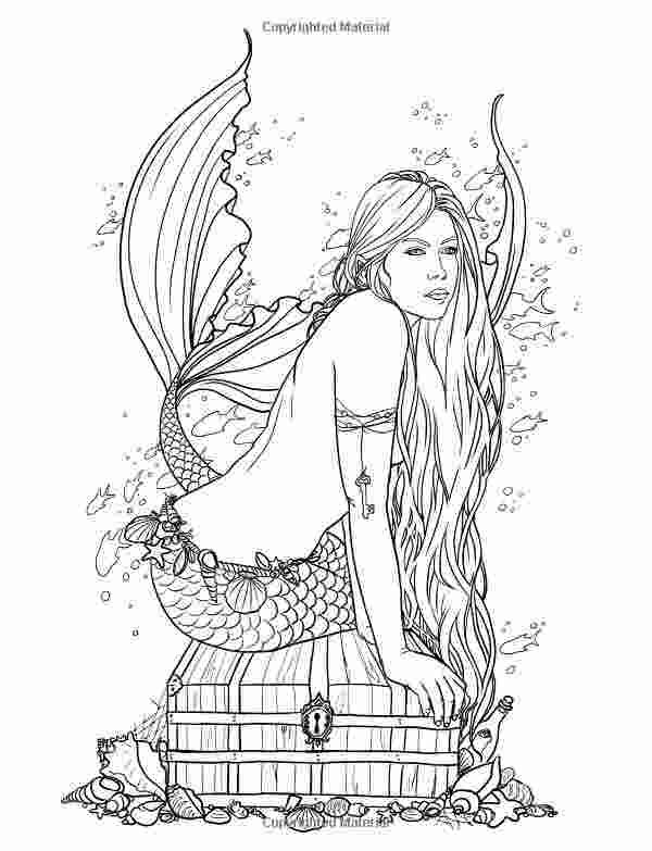 evil mermaid coloring pages free coloring pages of mystical fairies image result for pages evil mermaid coloring
