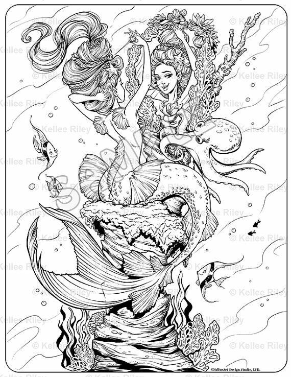 evil mermaid coloring pages pin by kay estes on coloring pages mermaid coloring pages coloring mermaid evil