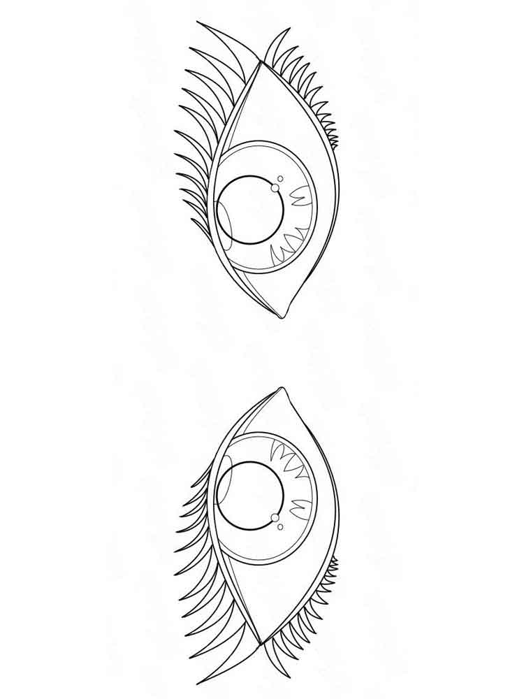eye coloring page an eye coloring page free printable coloring pages coloring page eye