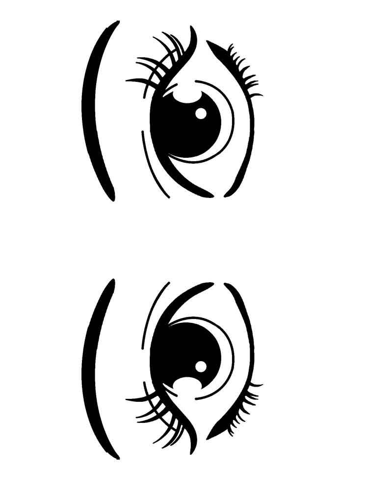 eye coloring page big eyeball coloring pages coloring eye page