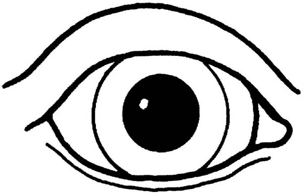 eye coloring page colouring pages the childhood glaucoma foundation page eye coloring