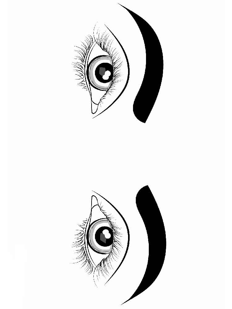 eye coloring page eyes coloring pages free printable eyes coloring pages eye coloring page