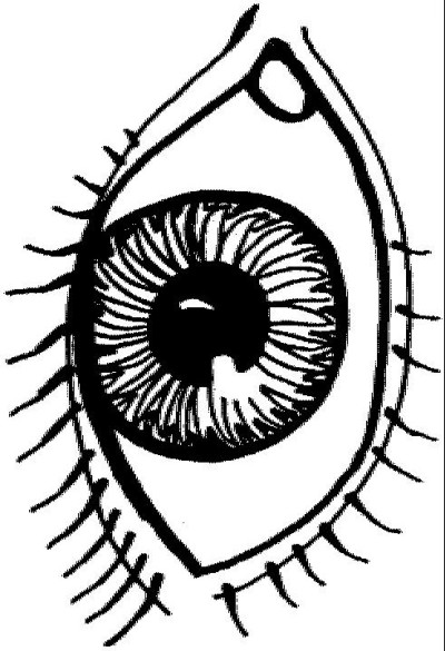 eye coloring page two eyes coloring page free clip art eye page coloring