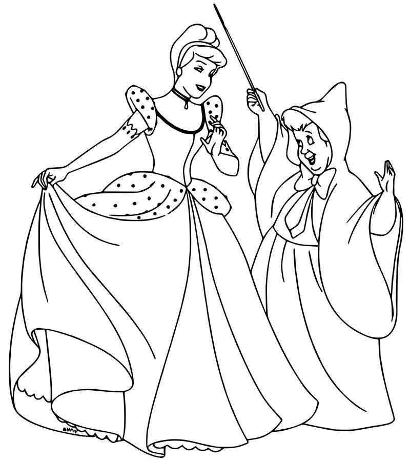 fairy godmother coloring page cinderella fairy godmother coloring pages 19 coloring sheets page coloring fairy godmother