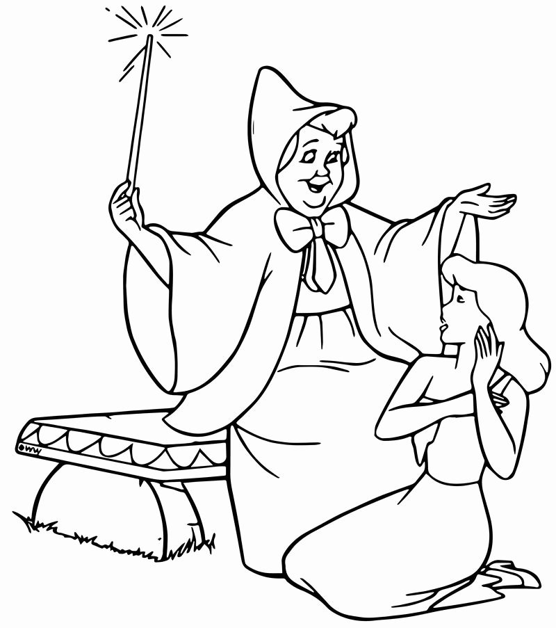 fairy godmother coloring page fairy godmother coloring page martin chandra coloring pages godmother page coloring fairy