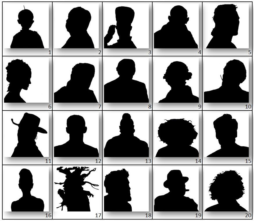 famous person silhouette famous silhouettes famous silhouette person