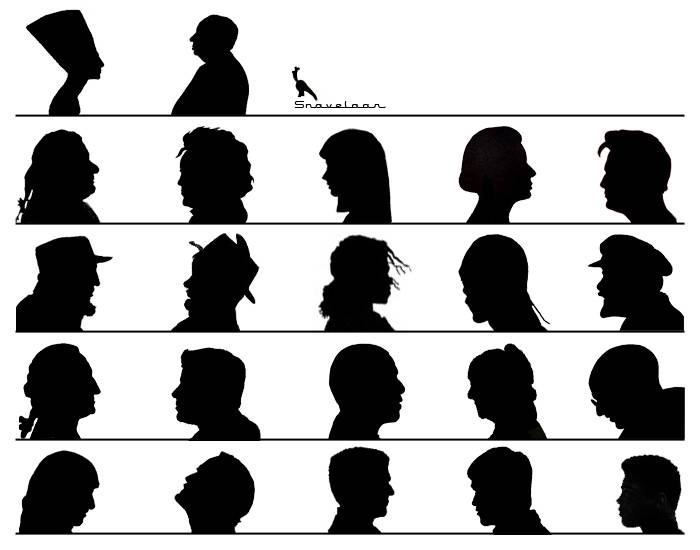 famous person silhouette free silhouette of famous people download free clip art famous silhouette person
