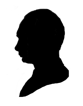 famous person silhouette silhouette of famous quotes quotesgram famous person silhouette