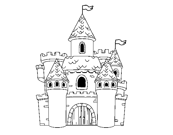 fancy castle coloring pages castle castle coloring page disney castle drawing pages castle coloring fancy