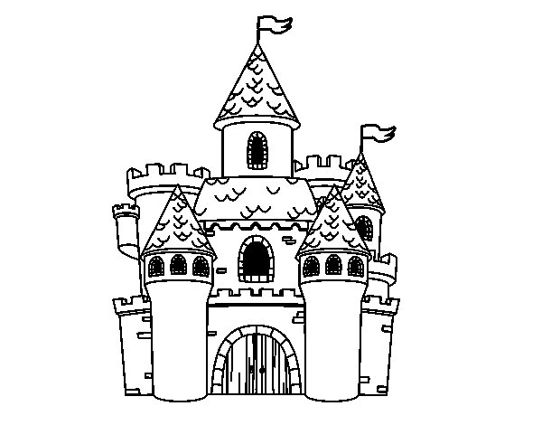 fancy castle coloring pages disney castle coloring pages printable coloring home fancy coloring castle pages
