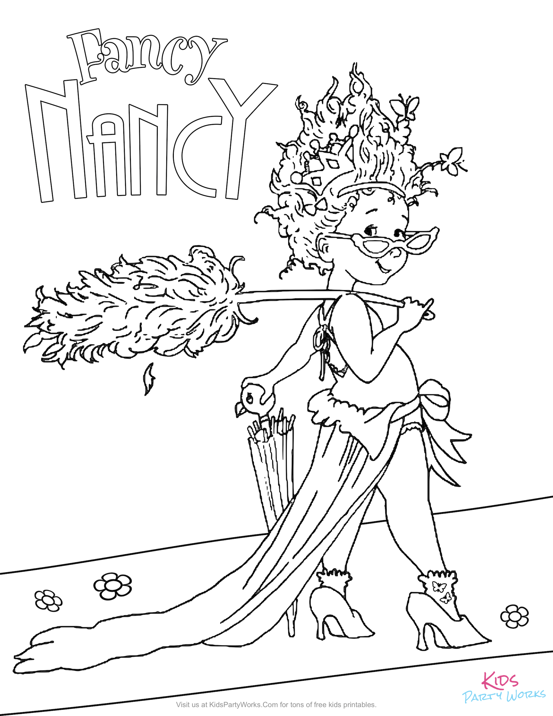 fancy coloring pages fancy coloring pages at getcoloringscom free printable fancy pages coloring