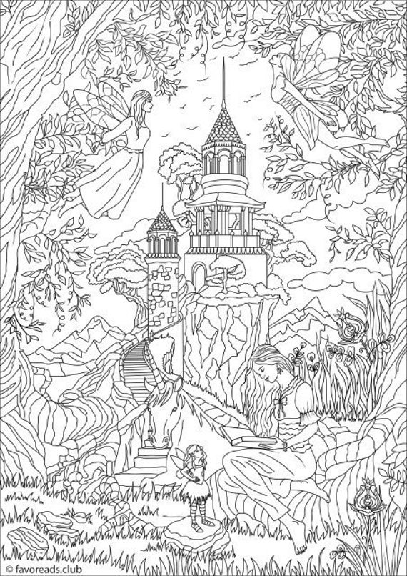fancy coloring pages fantasy coloring pages free printable fantasy coloring pages fancy coloring pages