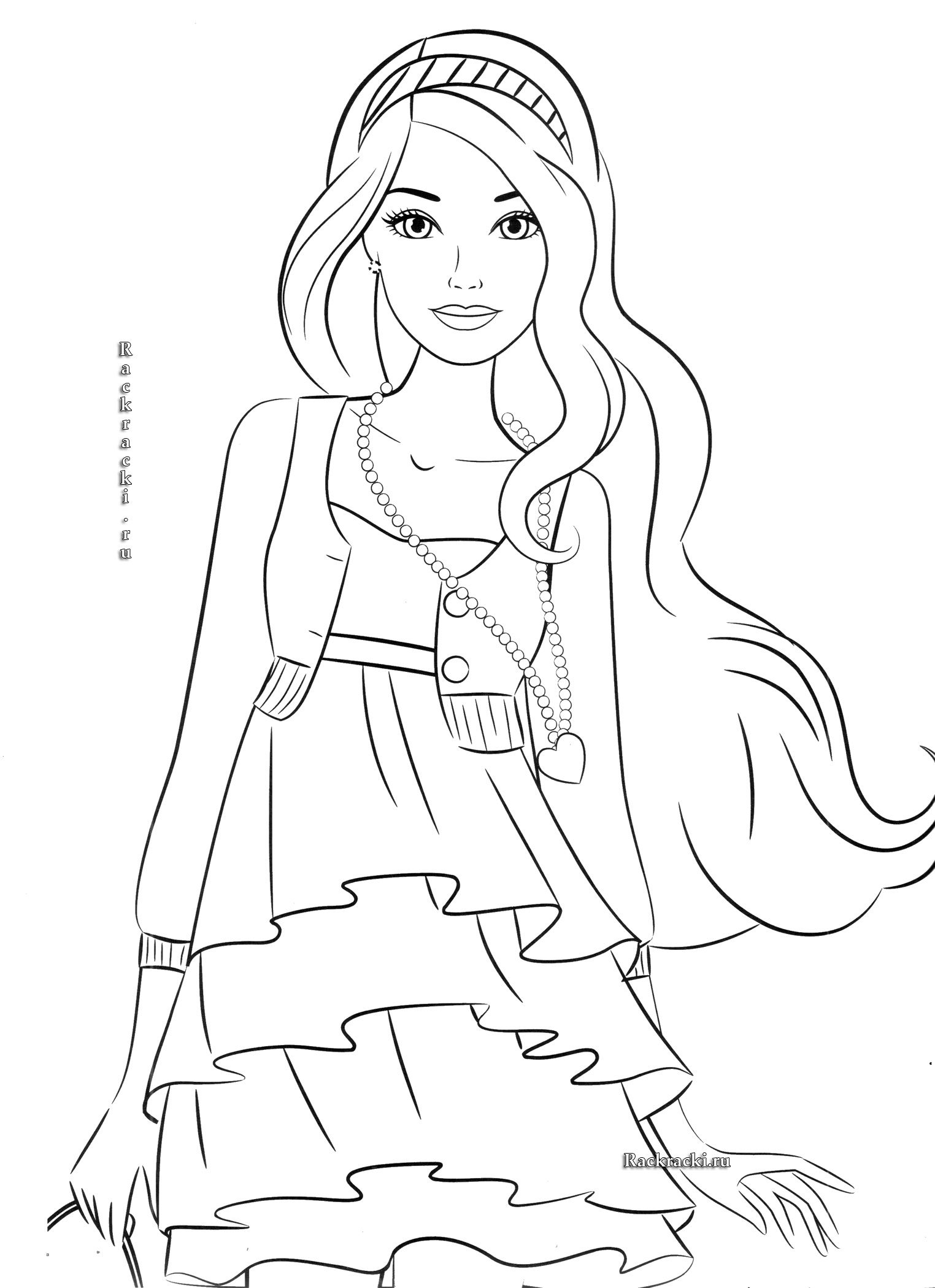 fashion barbie coloring pages barbie coloring pages for girls toddlers adults print pages barbie fashion coloring