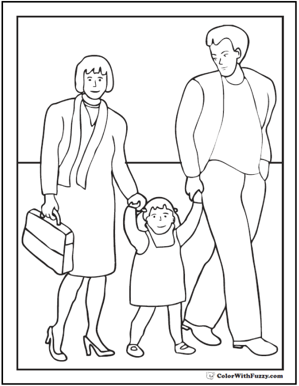 father and daughter coloring pages carrying daughter on fathers day coloring picture for coloring pages and father daughter