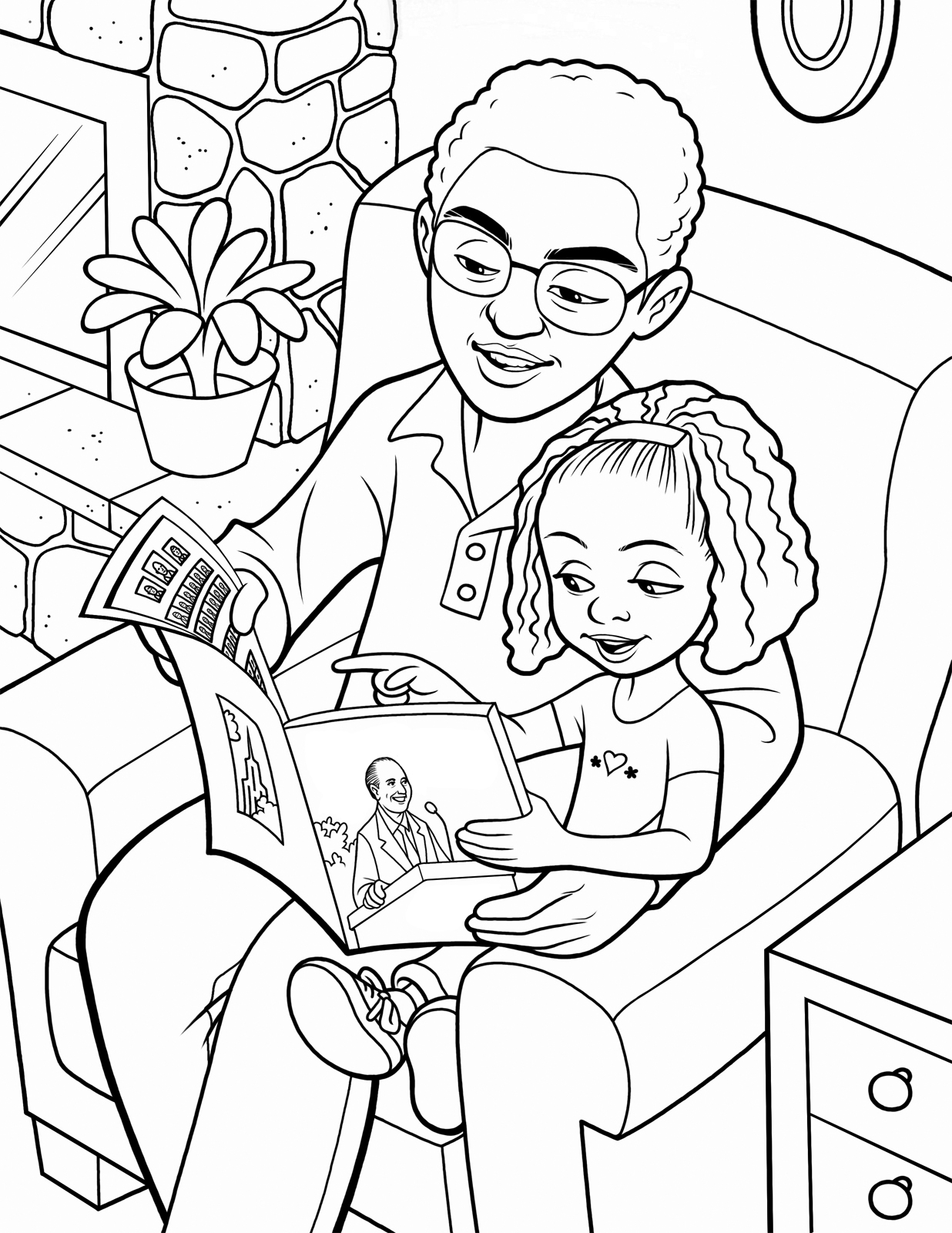 father and daughter coloring pages faerlmarie coloring pages 34 dad and daughter coloring pages coloring pages daughter and father