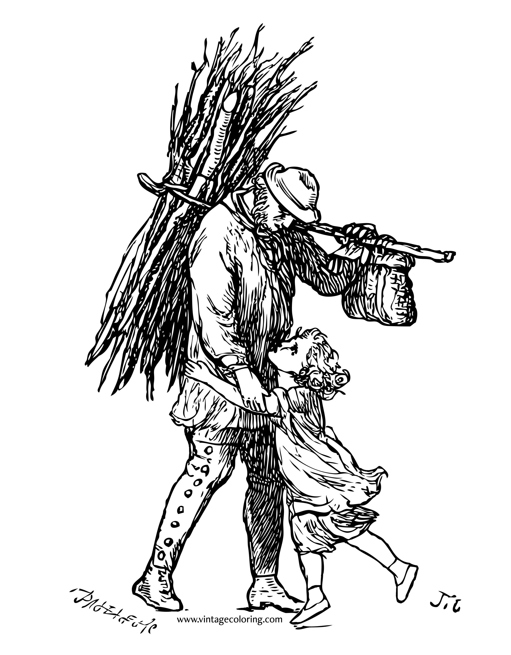 father and daughter coloring pages father and daughter a free vintage coloring page daughter pages and father coloring