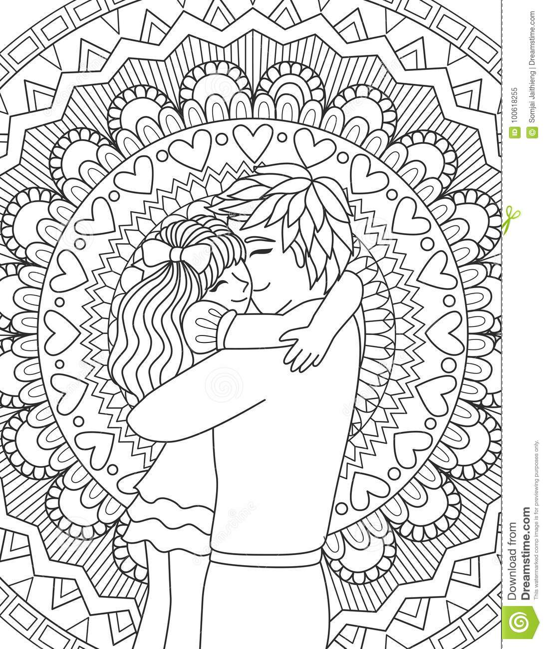 father and daughter coloring pages father39s day coloring page dad with kids and coloring daughter father pages