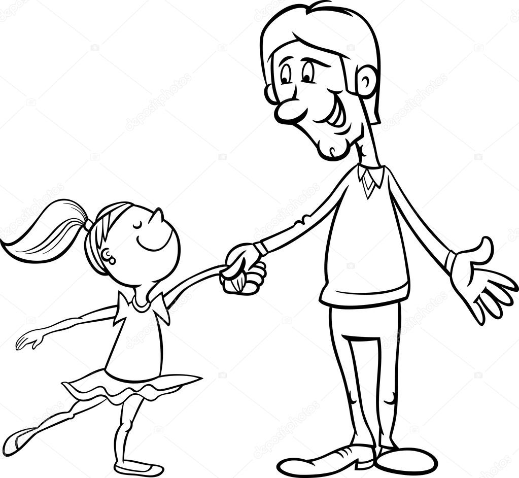 father and daughter coloring pages father39s day coloring pages father and daughter on father pages daughter coloring and