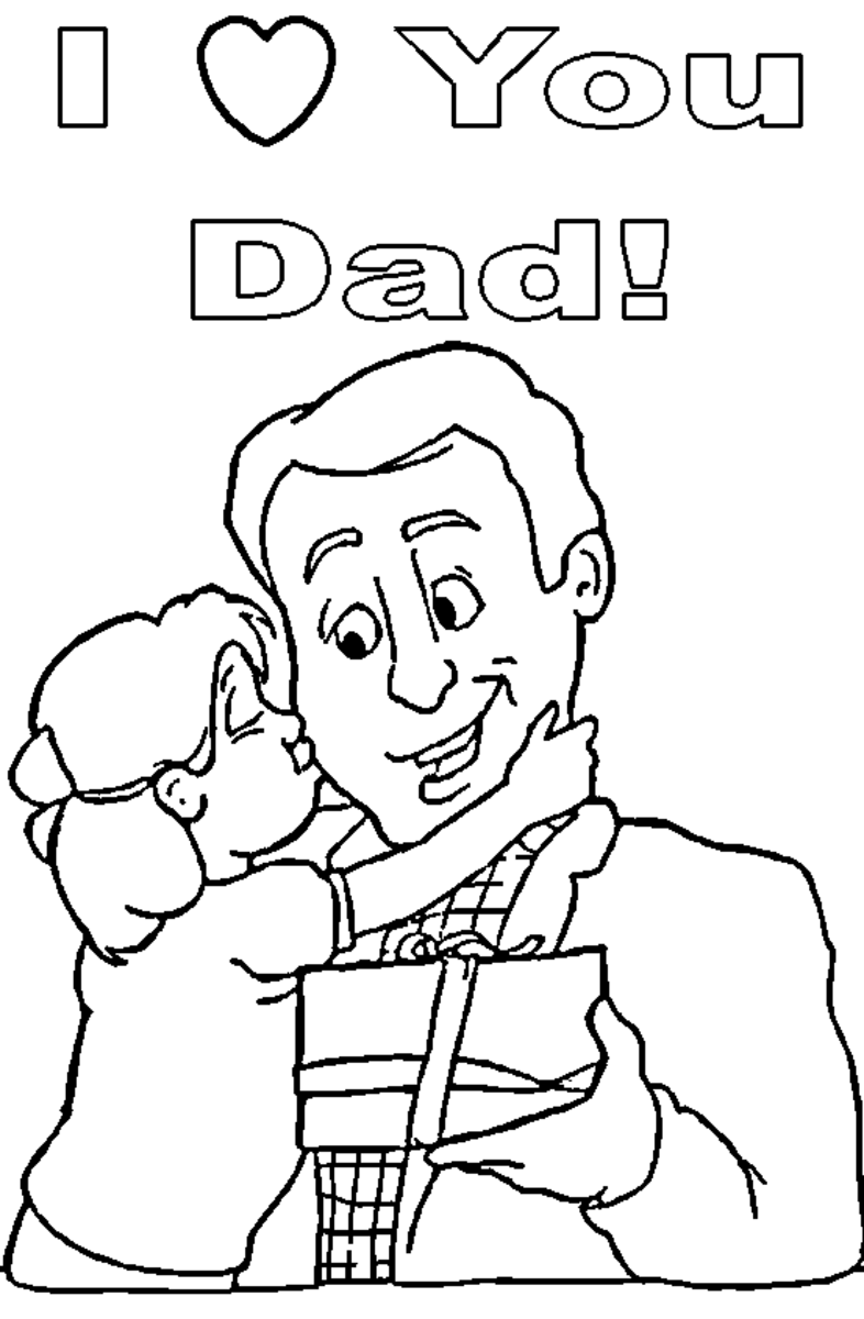 father and daughter coloring pages father39s day coloring pages hubpages pages and coloring father daughter