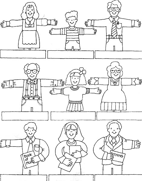 finger family coloring pages 5本指家族のイラスト素材 5955184 pixta pages family finger coloring