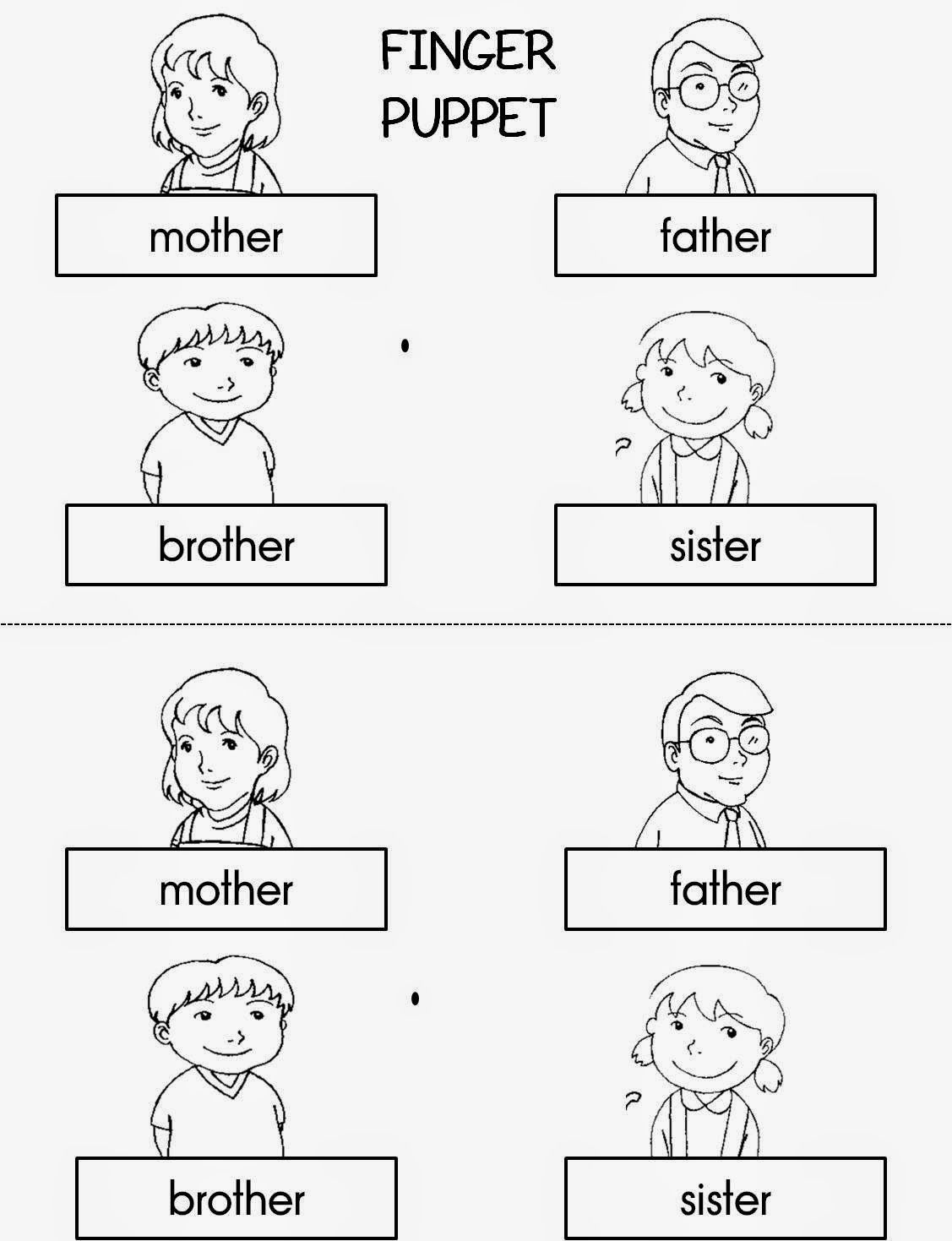 finger family coloring pages 64 idee su famiglia famiglia pagine da colorare per coloring pages family finger