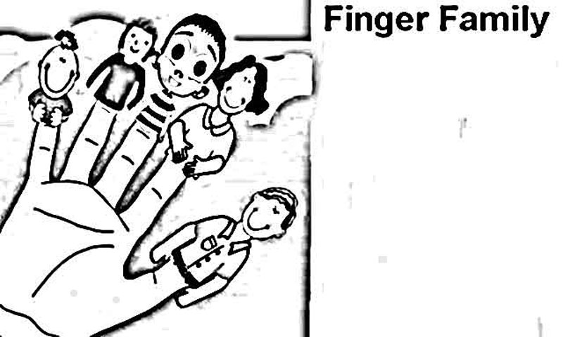 finger family coloring pages free coloring pages of family finger puppets sketch family finger coloring pages