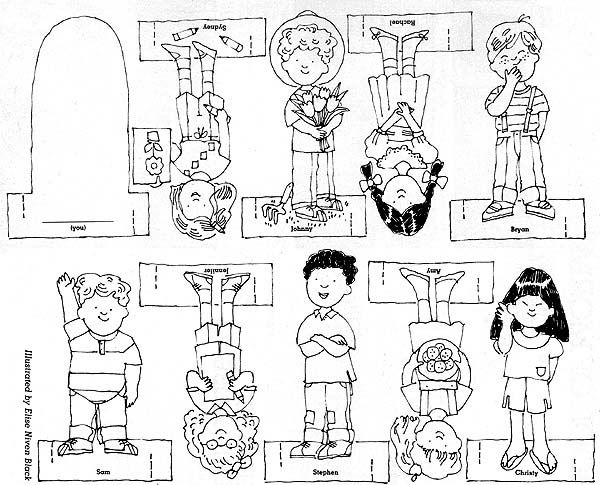finger family coloring pages image result for free finger puppet templates anaokulu pages coloring finger family