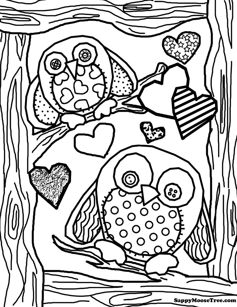 finished owl coloring pages free difficult coloring pages for adults owl coloring pages finished
