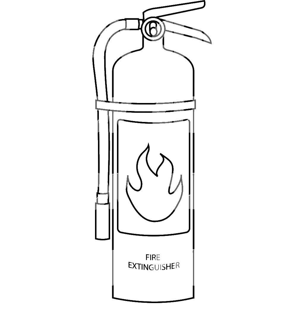 fire extinguisher coloring page fire extinguisher coloring pages coloring pages to extinguisher page fire coloring