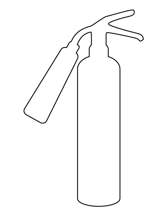 fire extinguisher coloring page fire extinguisher coloring pages coloring pages to fire coloring extinguisher page