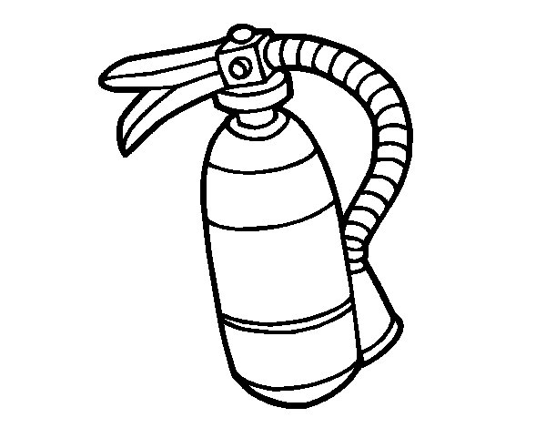 fire extinguisher coloring page fire extinguisher pattern use the printable outline for page coloring fire extinguisher
