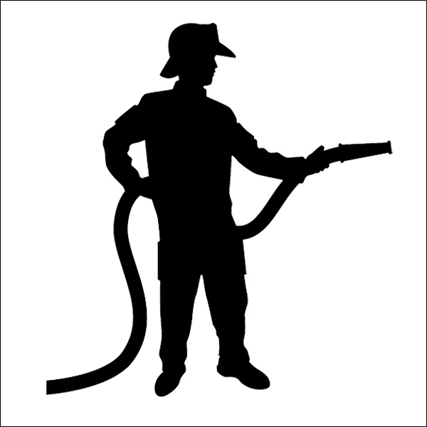firefighter silhouette firefighter silhouette red 3 display firefighter silhouette
