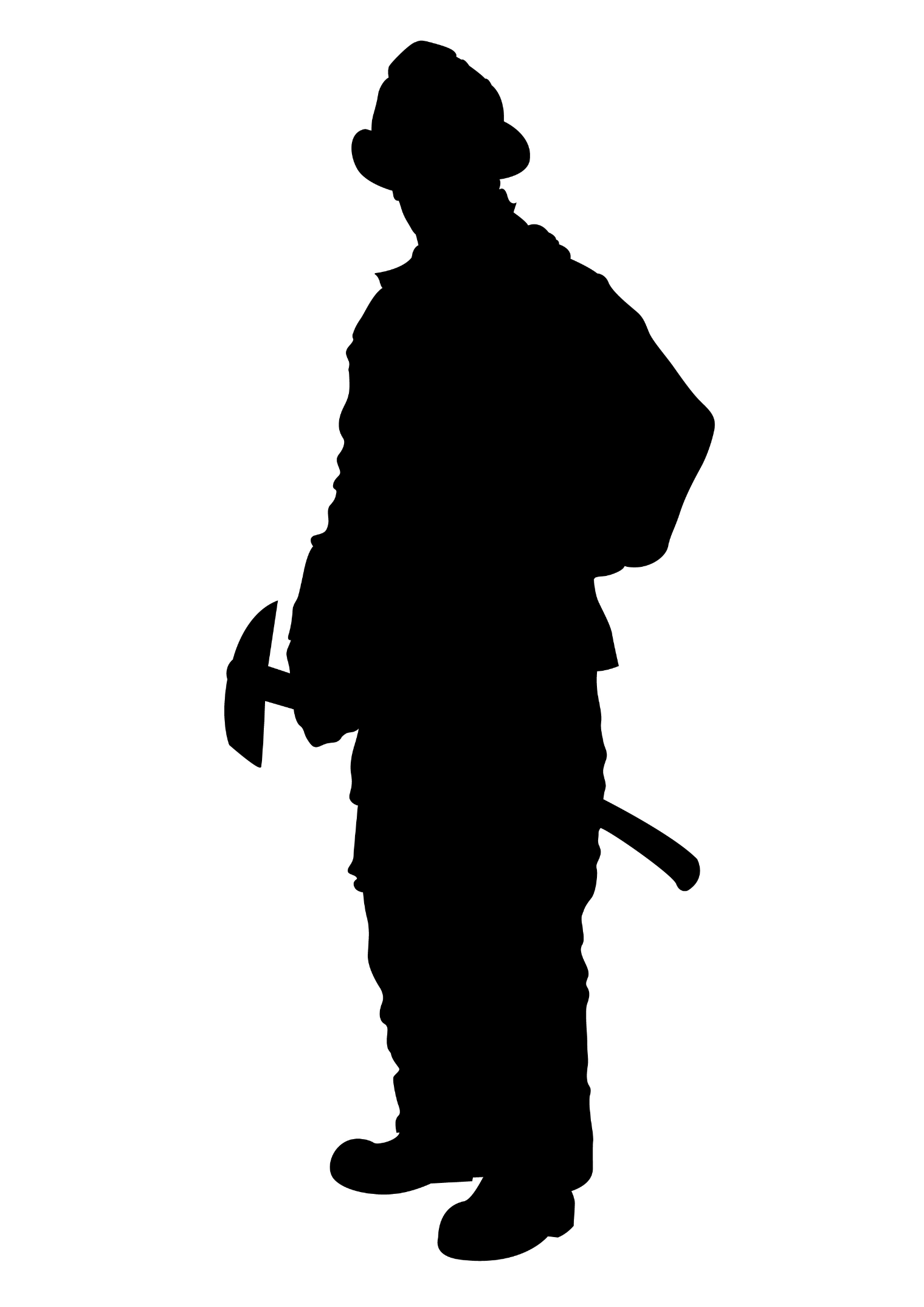 firefighter silhouette spearhead rescue silhouette firefighter