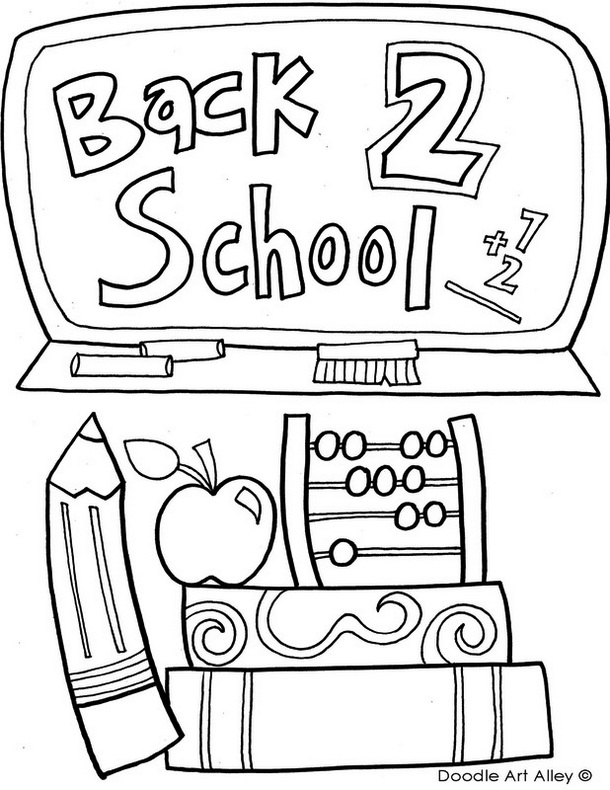 first day school coloring sheets a preschool girl student on her first day of school sheets school coloring day first