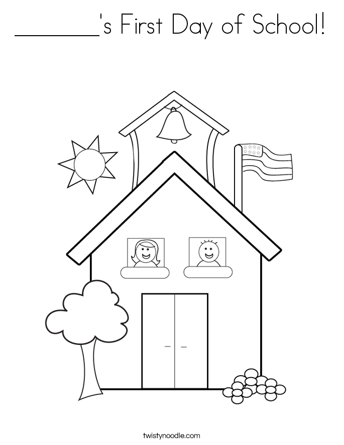first day school coloring sheets first day of school coloring page for kids educational sheets school coloring day first